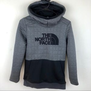 The North Face Quilted Pull Over Hoodie size Small